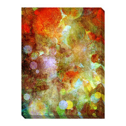 None - Flourish Oversized Abstract Gallery-Wrapped Canvas - Artist: Bittedankeschon Title: Flourish Product type: Gallery-wrapped canvas art