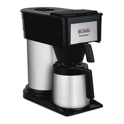 Bunn BTD Velocity Brew High Altitude 10-Cup Thermal Carafe Home Brewer, Black