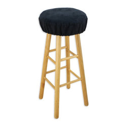 "Chooty & Co. - Chooty Passion Suede 16 in. Round Foam Bar Stool Cushion - BS16K814 - Shop for Stools from Hayneedle.com! The Chooty Passion Suede 16 in. Round Foam Bar Stool is a classic comfortable stool cover that will definitely serve you well. Its 16-inch round cushion is deliriously plush and it's enclosed in incredibly soft 100-percent polyester upholstery. An elastic band ensures the cushion and cover is securely attached to the durable wood stool. Available in a variety of colors to match your home. About Chooty & Co.A lifelong dream of running a textile manufacturing business came to life in 2009 for Connie Garrett of Chooty & Co. This achievement was kicked off in September of '09 with the purchase of Blanket Barons well known for their imported ""soft as mink"" baby blankets and equally alluring adult coverlets. Chooty's busy manufacturing facility located in Council Bluffs Iowa utilizes a talented team to offer the blankets in many new fashion-forward patterns and solids. They've also added hundreds of Made in the USA textile products including accent pillows table linens shower curtains duvet sets window curtains and pet beds. Chooty & Co. operates on one simple principle: ""What is best for our customer is also best for our company."""