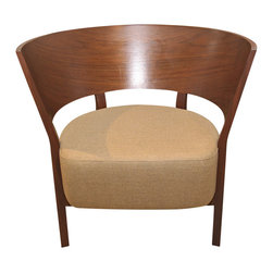 Peter Maly - Consigned Tosai Lounge Chair by Peter Maly - Lounge in this consigned Tosai chair by the renowned European designer Peter Maly. Gently used and in excellent condition, there are elements of Bauhaus and Scandinavian style to relish.