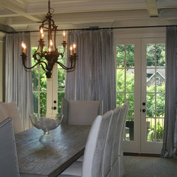 Living room/ Dining Room Draperies -