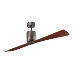 Kichler - Kichler Ferron Oil Brushed Bronze Ceiling Fan - 300160OBB - This Ceiling Fan is part of the Ferron Collection and has an Oil Brushed Bronze Finish.