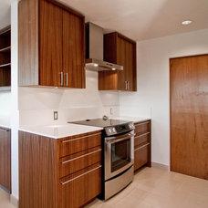 Midcentury Kitchen by BUILD LLC