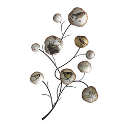Sterling Industries - Sterling Industries 129-1023 Birds Nest Collage Wall Decor - Wall Decor (1)