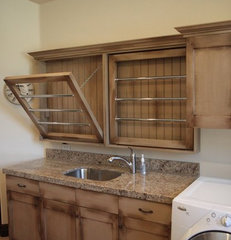 traditional laundry room by Quadstar Design