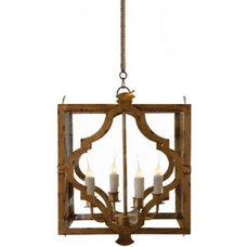 Eclectic Pendant Lighting by McEntire Design Group