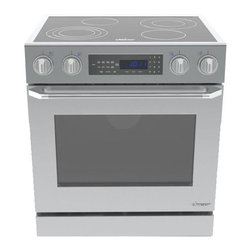 """Dacor Distinctive 30"""" Slide-In Electric Range, Stainless Steel 