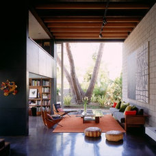 Modern Living Room [ Steven Ehrlich Architects ]