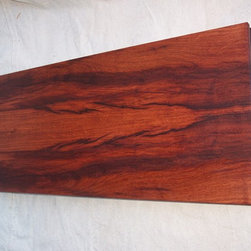 Cutting Boards - This is a cutting board made from Mesquite on one side then Black Walnut on the other. Mesquite side shown.