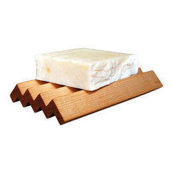 Solay Wellness dba So Well - So Essential Natural Handmade FSC Grooved Wooden Soap Dishes - Hand made in Chicago using FSC woods and finished with a natural oil. Soap dishes are recommended for all natural soaps. Natural, hand made soaps do not dry out like regular soap, using a wooden soap dish that lets the soap air from the bottom will extend the life of your natural soap.