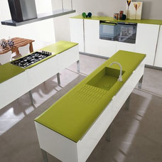 Contemporary Kitchen Cabinets by Italian Kitchen Design & Distribution - IKDD
