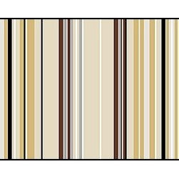 Casart coverings - Combined Stripe Pattern, Netural Wallcoverings, Neutral, Stair Riser (2 Sq Ft), - Casart Stripes come in pre-combined patterns for full wallcovering width coverage. These decorative options line up to be a quick and easy, carefree, DIY project.