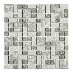 Somertile - Somertile Academy Light Grey Floor and Wall Tile (Case of 10) - Give your monochromatic gray color scheme a boost with this case of ten traditional wall and floor tiles from Somertile Academy. The classic texture and design of these tiles will easily transition into contemporary decor styles,as well.