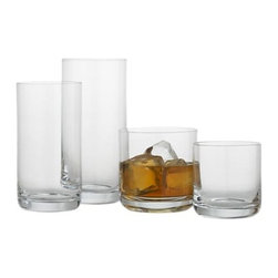 Crescent Glasses - I have a hard time keeping a set of glasses intact: they either break or wander off. The new year is a good time to get a new set, and I love this classic line from Crate & Barrel.