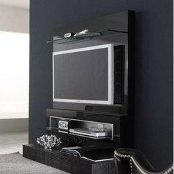 Rossetto Furniture - Diamond Black TV Unit - R700AD9000428 - Diamond Collection TV Unit