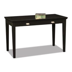 KD Furnishings - Black Hardwood Laptop Desk - Perfect for laptops or to hide away papers or a desktop keyboard,this delicately scaled desk offers abundant organization assistance in just a tiny space.