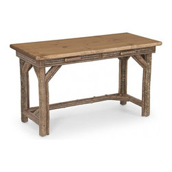 La Lune Collection - Rustic Desk #3202 by La Lune Collection - Rustic Desk with Pine Top #3202 by La Lune Collection