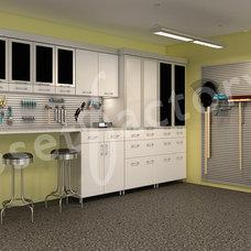 Contemporary Closet Organizers by Kay Wade, Closet Factory