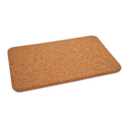 The Felt Store - Cork Hot Pad - Rectangular (300 X 200 X 10mm) - The Felt Store's Cork Hot Pads are an essential part of your tableware for the eco-conscious! This Cork Hot Pad is both naturally stylish and functional as it is a perfect way to protect your table and various surfaces from hot pots, pans and dishes in your kitchen and dining area! Serve your food in style with our Cork Hot Pads available in different shapes and sizes. This product is rectangular in shape which is suitable for all of your pots, pans and dishes. It can be wiped clean with a damp cloth. This Cork Hot Pad Rectangular is approximately 12 inches long, 8 inches wide and 0.40 inches thick in dimension.