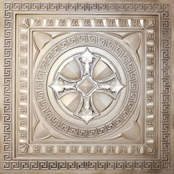 Decorative Ceiling Tiles - Argonaut - Faux Tin Ceiling Tile - 24 x 24 - #DCT01 - Find copper, tin, aluminum and more styles of real metal ceiling tiles at affordable prices . We carry a huge selection and are always adding new style to our inventory.