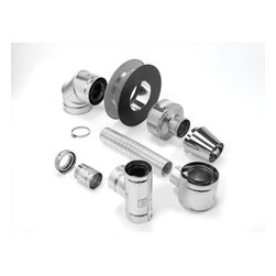SELKIRK CORPORATION - Selkirk Direct-Temp Termination Kit, Up and Out, Horizontal - Selkirk direct-temp termination kit, up and out, horizontal for pellet and corn installations