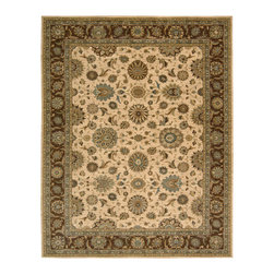 Nourison - NOUR-67811 Nourison Living Treasures Area Rug Collection - Bring a rare element of history, luxury and artistic sensibility into your home with this fine collection. Traditional classical Persian designs that were created centuries ago are featured in a dynamic interplay of patterns, colors, tones and textures. Turn any room into a sophisticated living area with these exquisitely crafted rugs.