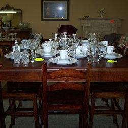 Crystal stem ware and china - nicci