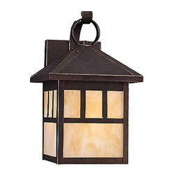 Sea Gull Lighting - Sea Gull Lighting 89016BLE Prairie Statement 1 Light Energy Star Outdoor Lantern - Specifications: