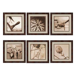 Paragon Art - Paragon Nautical ,Set of 6 - Artwork - Nautical ,Set of 6             ,  Paragon Artist is Kahn , Paragon has some of the finest designers in the home accessory industry. From industry veterans with an intimate knowledge of design, to new talent with an eye for the cutting edge, Paragon is poised to elevate wall decor to a new level of style.