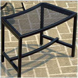 CobraCo Bravo Mesh Fire Pit Bench - Add a or two to your outdoor fire pit setup and watch the crowds gather. This comfortable and weatherproof steel bench matches powder-coated fire pits perfectly, and curves nicely around their lines for natural seating. It's built from tubular steel with a wire mesh seat, and is imminently easy to assemble.About Woodstream and CobraCoA privately held company with a long-standing positive reputation, Woodstream is a global manufacturer and marketer of quality products from pets and wildlife control, and home and garden products, to bird feeders and garden decor. They have a 150-year history of excellence, growth, and innovation, and have built a strong presence in key markets through organic growth and strategic acquisitions.Most recently, Woodstream acquired CobraCo, which offers an extensive line of planters, baskets, flower boxes, and accessories. The growth of Woodstream is thanks to their customer-driven approach to product development, a dedicated design organization that focuses on innovation, quality, and safety, as well as a commitment to an industry-leading level of service.