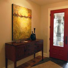 Traditional Entry by Garrison Hullinger Interior Design Inc.