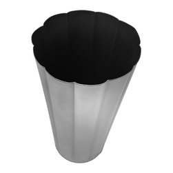 BrandWave - Flower Bucket, Metal - Inspired by the traditional French flower bucket, use this piece to brighten up any room. Perfect for long-stemmed, dried flowers, or even as storage for an umbrella, the options are limitless for this flawless piece.