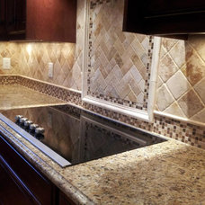 Traditional Kitchen Countertops by Granite Countertops by Mogastone