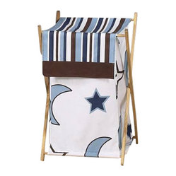 Starry Night Laundry Hamper