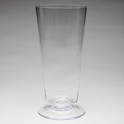 Global Views - Global Views BB-6.60002 Clear View Transitional Vase - Large - Global Views BB-6.60002 Clear View Transitional Vase - Large