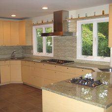 Contemporary Kitchen by Rivky Ungar Designs