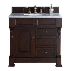 James Martin Furniture Brookfield 36 Quot Burnished Mahogany