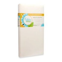 Naturepedic - Lullaby Earth Super Lightweight Baby Crib & Toddler Mattress - The Lullaby Earth Super Lightweight Baby Crib & Toddler Mattress is designed with a perfect balance of features. It offers a waterproof design, a firm and durable construction and square corners for a snug fit.