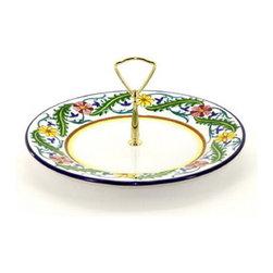 Artistica - Hand Made in Italy - Corona: Tid-Bit Plate - Artistica's Exclusive!