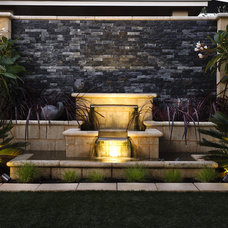 modern outdoor lighting by Hunza Productions Ltd