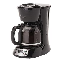 BETTY CROCKER - Betty Crocker BC-2825CB Coffee Maker (12-Cup) - 24-hour LCD digital programmable clock