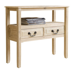 Great Deal Furniture - Noah Wood Accent Table, Off-White - With the Noah acacia wood accent table, you get the beauty of a smooth finish with the strength of true acacia wood. Perfect as a side table or as a display piece in your living room, bedroom or any other room.