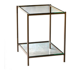 Covina End Table by Charleston Forge - Dimensions: (width x depth x height or thickness)