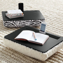 Speaker Lap Desk - This lap desk is fantastic for anyone who uses iPads to study/read their textbooks. It comes with built-in speakers and a dock for propping up your device. It's a great alternative to the traditional desk.