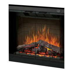 "Dimplex - Dimplex 32-Inch Multi-Fire/Purifire Plug-in Electric Firebox - DF3215 - Dimplex 32"" MultiFire Electric Fireplace Inserts add a warm, relaxing feel to your home at the push of a button. Dimplex 32"" MultiFire Electric Fireplace Inserts feature patented Dimplex Flame effect featuring Multi-Fire Firebox, large 32"" firebox, Purifire Air Treatment System and a Deluxe 13-function remote. The Dimplex 32"" MultiFire Electric Fireplace Insert DF3215 has a 10 year limited warranty."