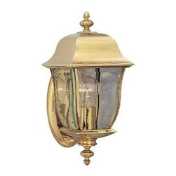Cordelia Lighting - Cordelia Lighting Outdoor Lanterns. Oak Harbor Polished Brass Lantern Outdoor Wa - Shop for Lighting & Fans at The Home Depot. Oak Harbor outdoor lanterns are a modern take on a classic design with a unique, elegant style that complements the exterior decor of any home. The polished brass finish is treated to prevent pitting, tarnishing, corrosion, and discoloration. The clear glass works with the sharp lines and oval back plate to provide a clean look from the fixture and warm glow from the light. The sturdy, weather resistant brass and stainless steel construction and waterproof seal protects the lantern from harsh outdoor elements to ensure the long life of the fixture. These outdoor lanterns install easily and deliver welcoming, safe and reliable exterior lighting.