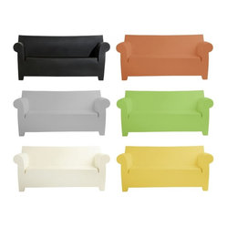 Kartell - Bubble Club Sofa - Couch the idea that you can't have high style and coziness outside. Designed by Philippe Starck, this outdoor sofa is molded from durable, fade-resistant polyethylene in a shape straight from your family room. It's available in six eye-catching colors.