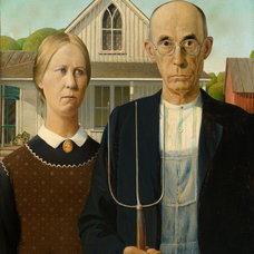 Originals And Limited Editions 'American Gothic,' by Grant Wood