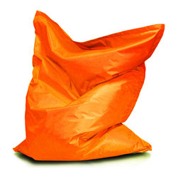 Turbo BeanBags - Beanbag Pillow Small, Orange, Filled Bag - Small Pillow is a ideal gift for a child. It does not take much space, you can easily transfer, ideal for fun, exercise and sleeping. You can choose from different colors