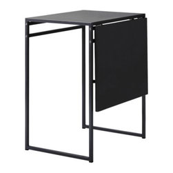 Sandra Kragnert - MUDDUS Drop-leaf table - Drop-leaf table, black